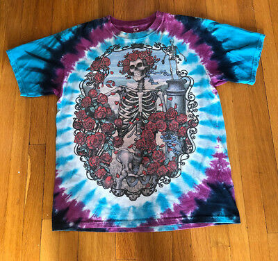 Grateful Dead/30th Anniversary/1995/Tie Dye/T Shirt/S-M/Psychedelic/Jerry Garcia