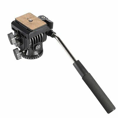 KINGJOY VT-1510 Video Fluid Dydraulic Damper Tripod Ball Head with Quick Release