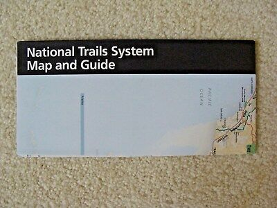 NATIONAL TRAILS SYSTEM MAP AND GUIDE Brochure - NPS - New Condition