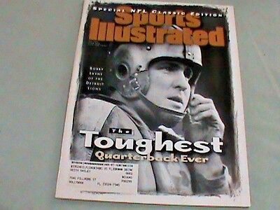 Sports Illustrated Magazine Bobby Layne Fall 1995 New Condition