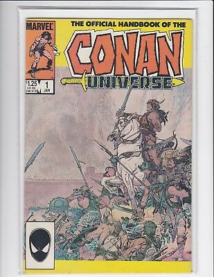 The Official Handbook of the Conan Universe #1 - Conan the Barbarian - VF/NM