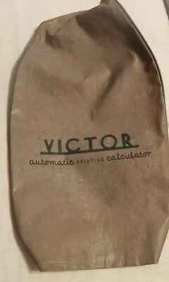 Victor Adding Machine Cover Vintage