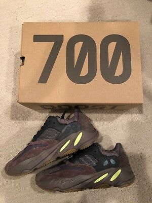 b36aa8598 Adidas Yeezy Boost 700 Mauve Wave Runner Mens US Size 9.5 DS NEW Authentic  350