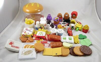 CDI Mcdonalds Play Food Chicken Nuggets Transformers Happy Meal Toy Lot