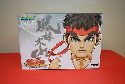 NEW Big Boy Toys Tier 1 STREET FIGHTER T.N.C-01 THE NEW CHALLENGER RYU