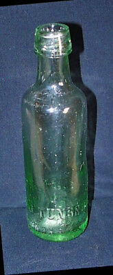 c1915 Kent Wells Thomas Putland Turnbridge Wells Green 8¾' Mineral Bottle