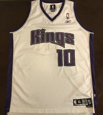 c2087349d69a RARE VINTAGE REEBOK NBA Sacramento Kings Mike Bibby Gold Throwback ...