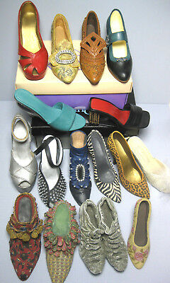 Lot Of Just The Right Shoe (Raine) & Misc Shoe Collectibles W/2 Boxes