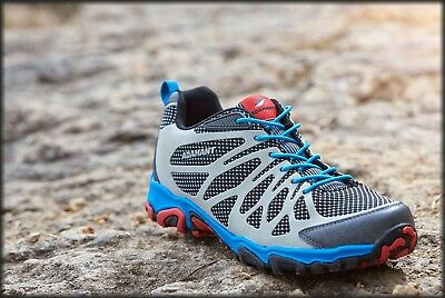 Adamant Men's GeoTread Bungee Lace All-Terrain Outdoor Shoes Athletic Size 9 New