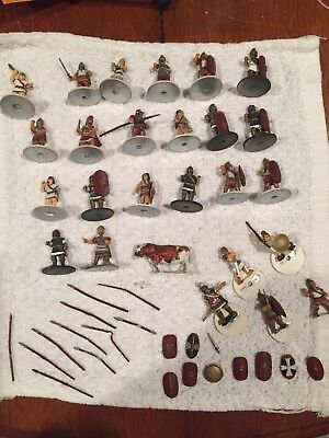 Large Lot Of Vintage Lead Roman Soldiers To Complete