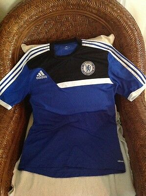 CHELSEA FC ADIDAS Mens Size Small Longsleeve Soccer Warmup ... a387fefbe