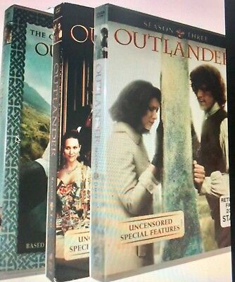 Outlander: Complete Series Seasons 1 Season 2 & 3 ,1 2 3 DVD Bundle US Seller