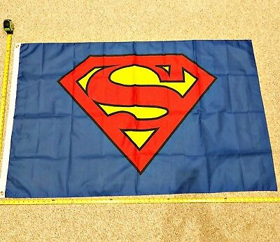Superman FREE SHIPPING Flag Reguar flags poster banner Super Women Rare 3x5'