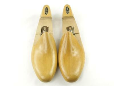 VINTAGE CHURCH'S English Shoes Adjustable Hinged Wooden Shoe Trees Size 11 D