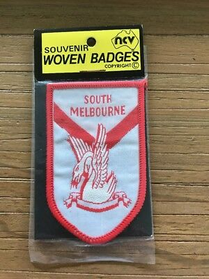 South Melbourne Swans Woven Badge