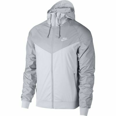 83f65570cc3 NIKE SPORTSWEAR WINDRUNNER Jacket 727324 048 Grey-Pure Platinum (Men's  Large)