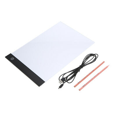Portable LED Tracing Light Box Board Art Tattoo A4 Drawing Copy Pad Table R8F3
