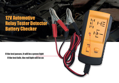 Universal AE100 12V Automotive Relay Tester Detector Vehicle Battery Checker