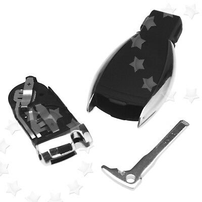 3 Button Remote Fob Key Case Shell For MERCEDES BENZ CLK 2003-0210