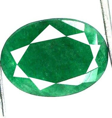 GGL Certified 5.20 Ct Natural Oval Cut Green Emerald Gemstone Hurry Now