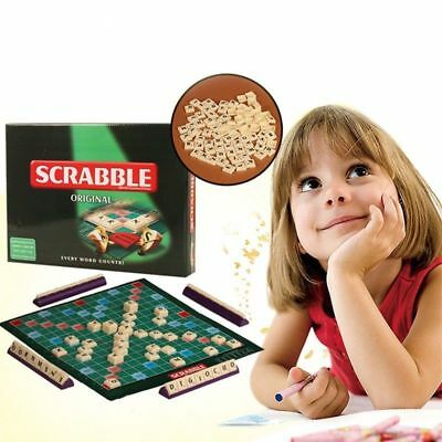 crabble Board Game Family Kids Adult Educational Toys Puzzle Game