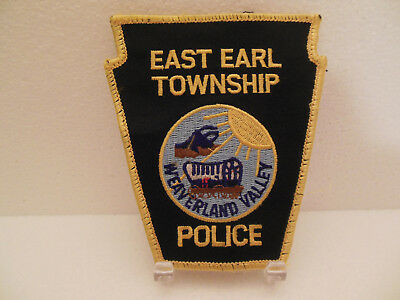 East Earl Township Police  Lancaster County   Pennsylvania  Pa   Covered Wagon