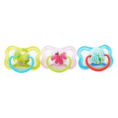 Butterfly Shape Newborn Orthodontic Dummy Pacifier Baby Silicone Teat Soother LI