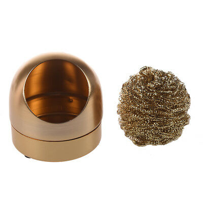 solder tip cleaner iron metal sponge sponge Gold color New K8L8