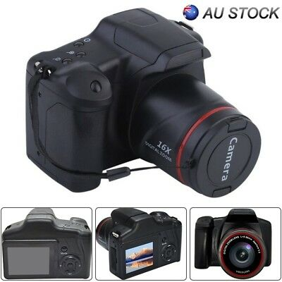 Digital SLR Camera 2.4 Inch TFT LCD Screen 1080P 16X Zoom Anti-shake LED Lamp