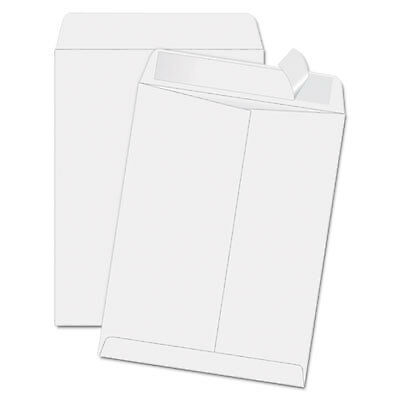 Redi Strip Catalog Envelope, 11 1/2 x 14 1/2, White, 100/Box 44834  - 1 Each