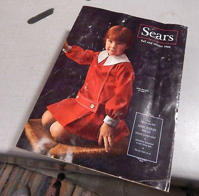 SEARS ROEBUCK Catalog  1965 Fall Winter Chicago Edition Fair Condition B