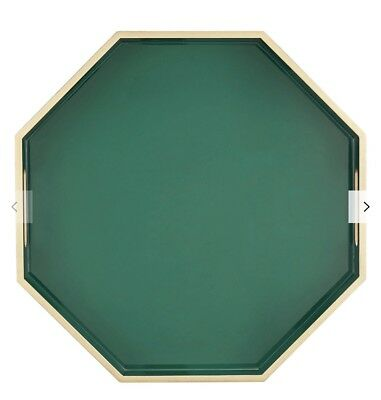 John Lewis & Partners Collector's House Hexagon Tray, Green