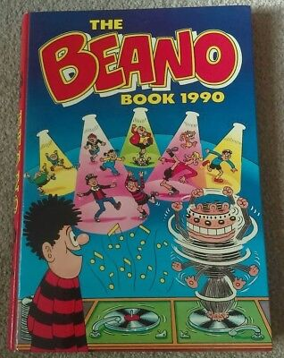The Beano Book 1990  Annual Unclipped