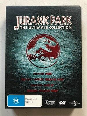 Jurassic Park - The Ultimate Collection (DVD) Region 4
