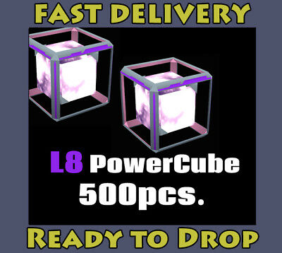 INGRESS L8 Power Cube x 500pcs. # Ingress v1.0 & PRIME Valid Items #