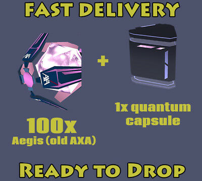 INGRESS Aegis Shield 100 + Quantum # Ingress v1.0 & PRIME Valid Items #