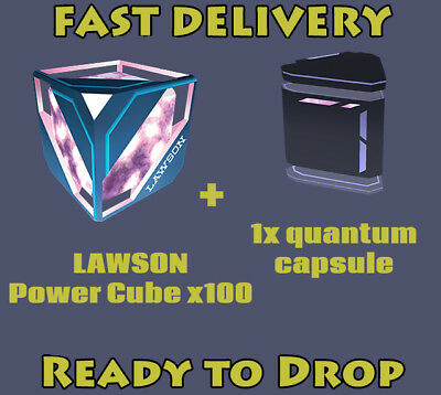 INGRESS PRIME Lawson Power Cube 100 + Quantum # Ingress1.0 and PRIME#