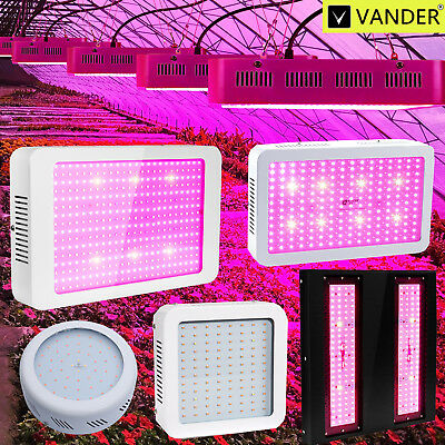 VANDER 1000W to 3000W LED Grow Light Full Spectrum Hydro For Plant Medical Lamp