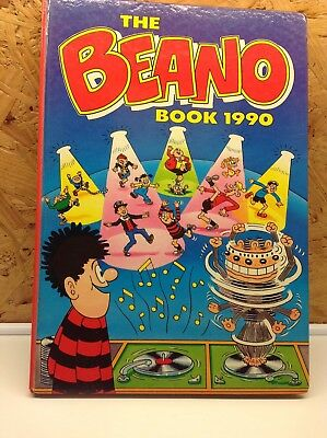 The Beano Book 1990 (Annual) (Hardcover)--0851164382