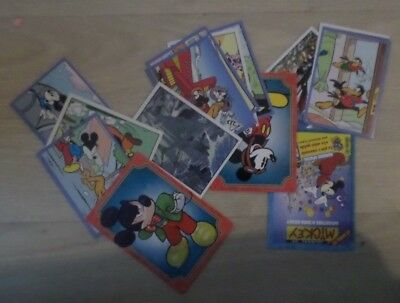 Lot IMAGES NEUVES PANINI DISNEY MICKEY MOUSE STICKER STORY 90 ANS A choisir