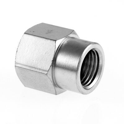 "Reduced Socket Fem x Fem BSP Hydraulic / Pneumatic Pipe Fitting BZP 1/8"" To 1/2"""