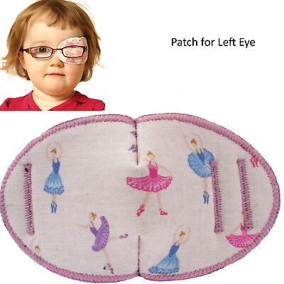 Kids RIGHT Eye Patch to treat Amblyopia, Lazy Eye BALLERINAS