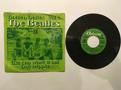 """7"""" Single THE BEATLES We can work it out"""