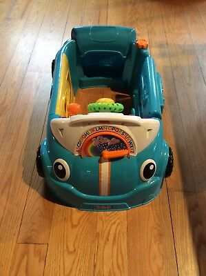 Baby/Toddler Fisherprice Laugh and Learn Activity Crawl Around Toy Car
