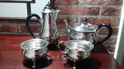Vintage Silver Plated 4 Piece Tea / Coffee Set, Epns