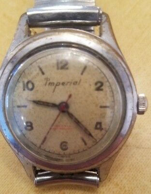 Vintage Imperial Swiss made watch