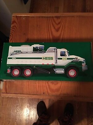 2017 HESS DUMP TRUCK and LOADER MINT  IN BOX
