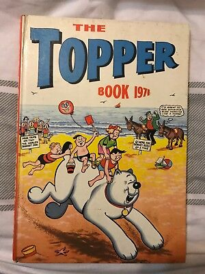 The Topper 1971 Hardback Collectible Vintage Book