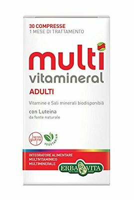 Erba Vita Multivitamineral Adulti - 30 compresse (Y5V)
