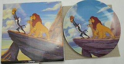 Disney Store The Lion King 1994 Collector Plate Limited Edition Made In Japan